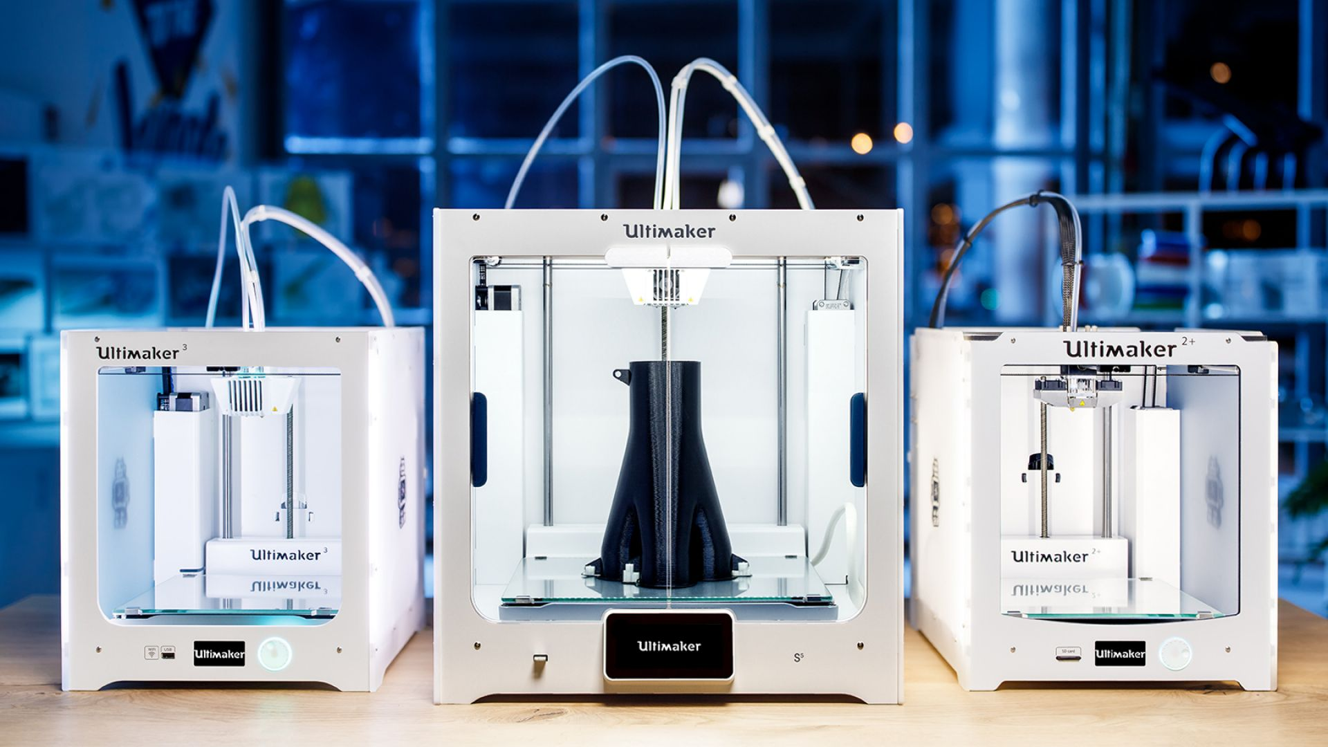 3D Drucker New Ultimaker S5, Ultimaker S3, Ultimaker S2+